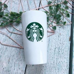Starbucks 2019 logo travel mug cup ceramic green